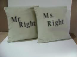 Mr and Ms right photo blurred
