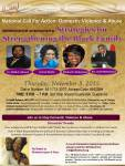 Domestic Violence and Abuse Call For Action Panel jpeg - Thursday-November 5, 2015